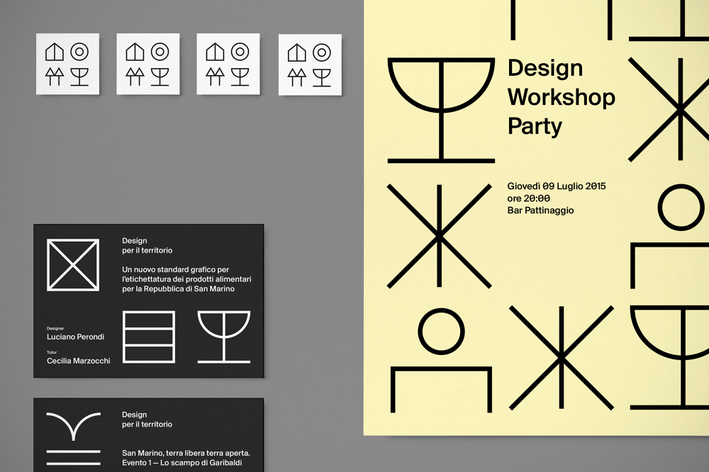 San Marino Design Workshop - Davide Di Gennaro – Graphic Design